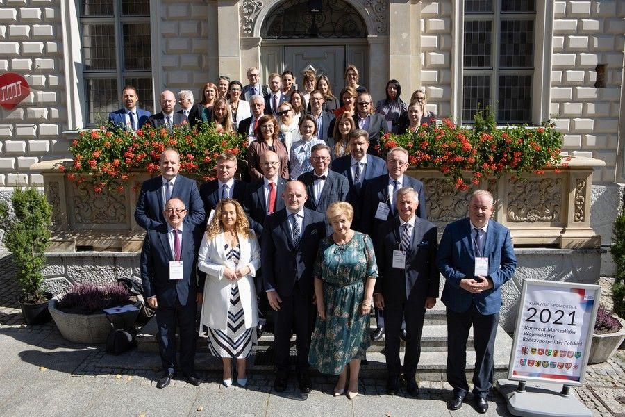 Spotkanie Regionalnych Funduszy Rozwoju wzwiązku zKonwentem Marszałków Województw RP