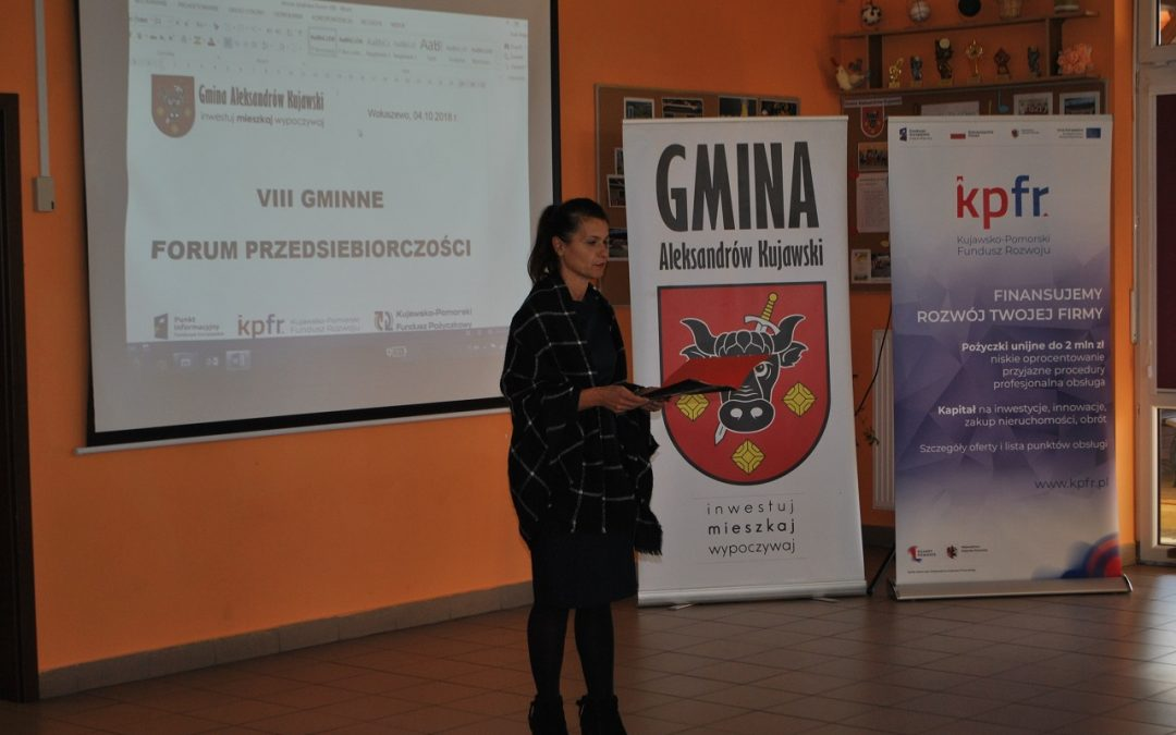 VIII Gminne Forum Przedsiębiorczości