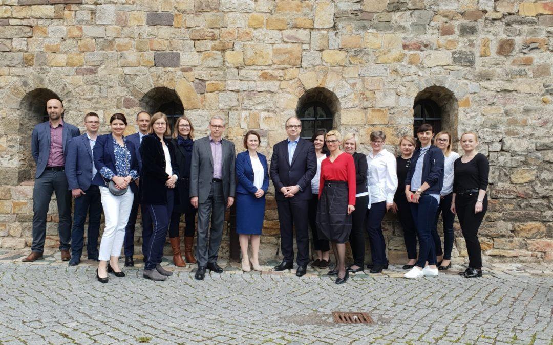 Wizyta studyjna wBanku Inwestycyjnym Saksonia-Anhalt