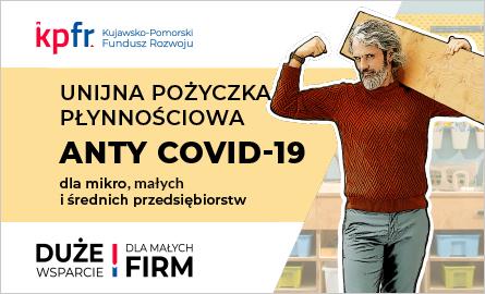 Dedykowana pożyczka płynnościowa anty-COVID dla branż dotkniętych restrykcjami