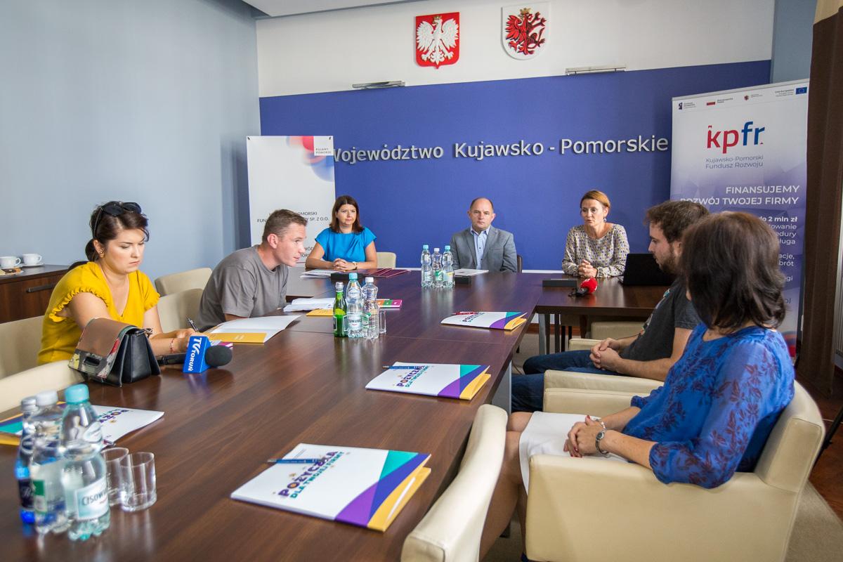 Podpisanie umowy zKujawsko-Pomorskim Funduszem Pożyczkowym Sp. zo.o.